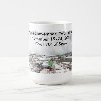 "Mug Snovember de Buffalo, ""mur de neige """