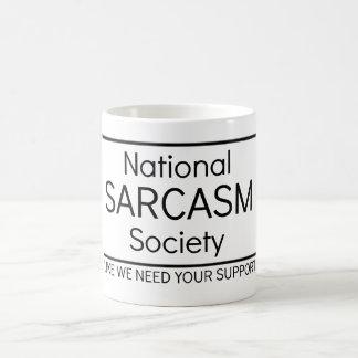 Mug Société nationale de sarcasme