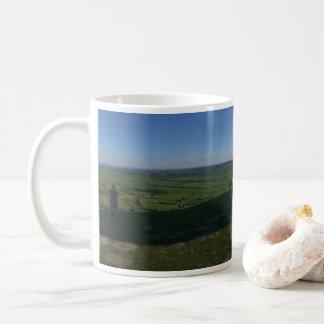 Mug Sommet de massif de roche de Glastonbury