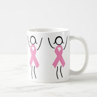 Mug Soutenez le ruban rose