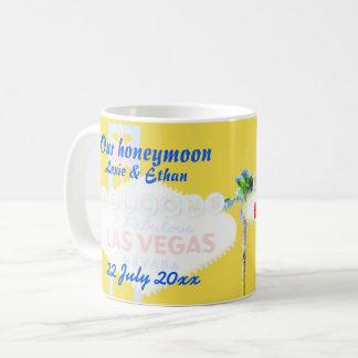 Mug Souvenir de lune de miel de Las Vegas