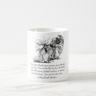 Mug Souvenir de Pekingese - FEMELLE