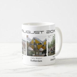 Mug Souvenir editable de vacances des textes de photos