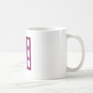 Mug Soyez différents cadeaux de carrés de pourpre