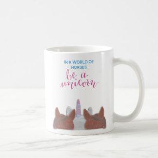 Mug Soyez une licorne