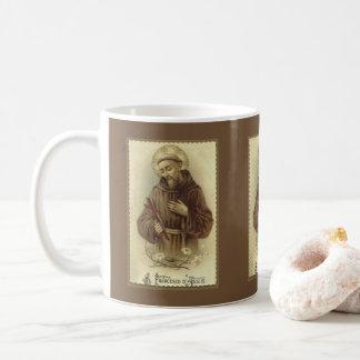 Mug St Francis du saint patron d'Assisi des animaux
