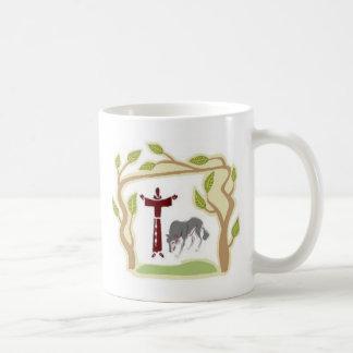 Mug St Francis et la cravate de loup, la boîte-cadeau,