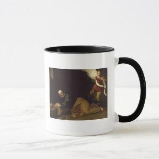 Mug St Peter a libéré par un ange, 1639