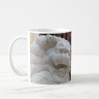 Mug Statue tibétaine de lion de neige