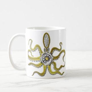 Mug Steampunk embraye le poulpe Kraken