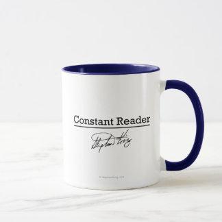 Mug Stephen King, lecteur constant