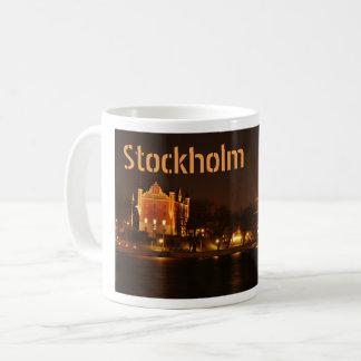 Mug Stockholm, Suède la nuit