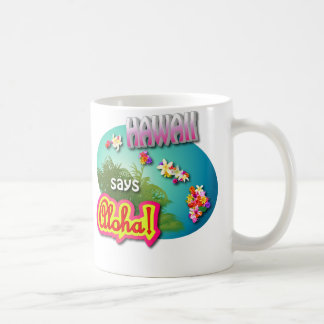 Mug Style hawaïen