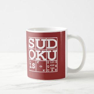Mug Sudoku est pour des carrés