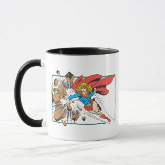 Mug Supergirl détruit Boulder
