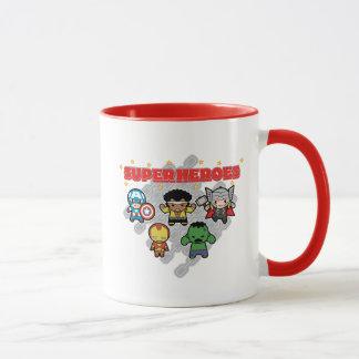 Mug Superhéros de merveille de Kawaii
