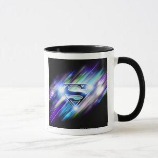 Mug Superman a stylisé le logo brillant d'éclat de