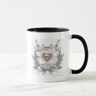 Mug Superman a stylisé le logo doux de journaliste de