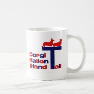 Mug Support de nation de corgi grand