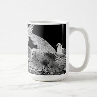 Mug Sur des ailes des mouettes