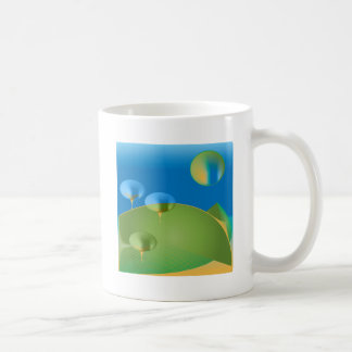 Mug Surprise abstraite de lune