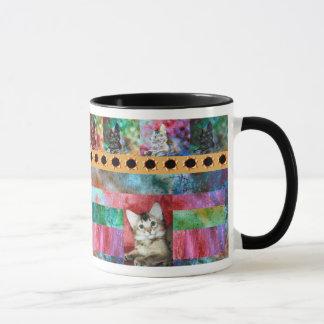 Mug Surprise somalienne colorée de chat