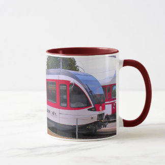 Mug Swizerland, train interurbain