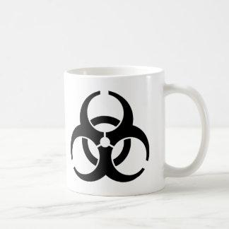 Mug Symbole d'avertissement de Biohazard international
