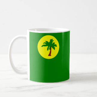 Mug Symbole de nation de drapeau de pays d'îles de