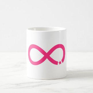 Mug Symbole rose d'infini avec l'étoile