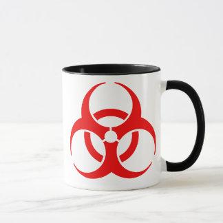 Mug Symbole rouge de Biohazard