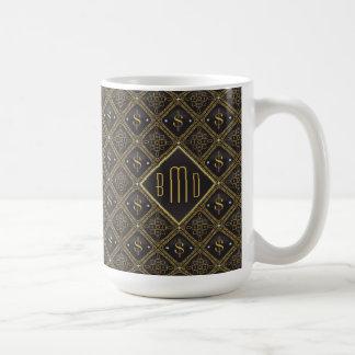 Mug Symboles dollar et diamants