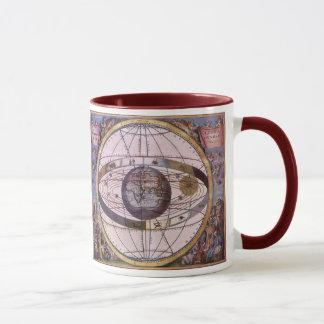 Mug Système solaire Ptolemaic antique, Andreas