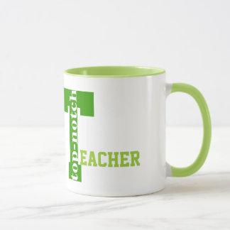 Mug T initial, excellent professeur appelé