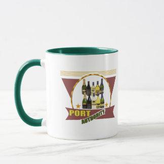 Mug T-shirts et cadeaux de vin d'autorité portuaire