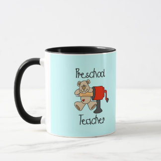 Mug T-shirts et cadeaux préscolaires de professeur