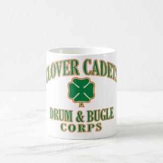 Mug Tambour de cadets de trèfle et corps de bugle