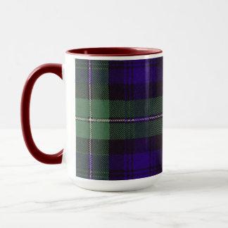 Mug Tartan d'écossais de plaid de clan de Forbes