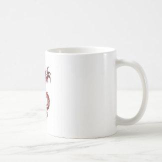 Mug Tatouage de dragon - rouge