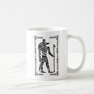 Mug Tatouage tribal Anubis