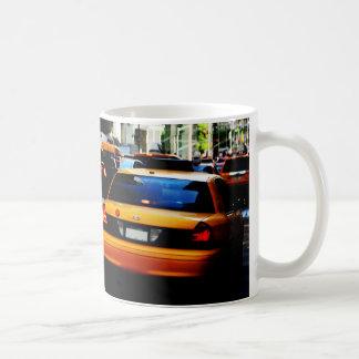 Mug Taxis jaunes de New York City