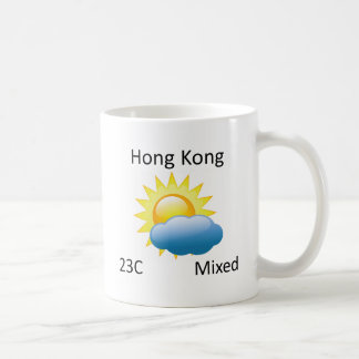 Mug temps Hong Kong