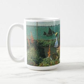 Mug Terrasse au bord de la mer par Claude Monet