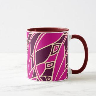 Mug Tessellations de nouveau d'art moderne couleurs