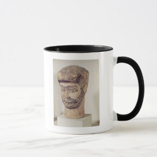 Mug Tête d'un homme perlé, c.1800 AVANT JÉSUS CHRIST