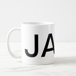 Mug Texte de géant de JAVA
