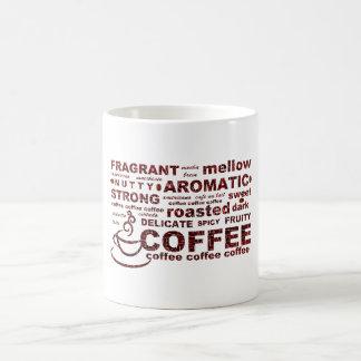 Mug Texte de grain de café