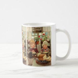 Mug Thanksgiving vintage, enfants reconnaissants
