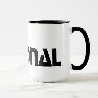 Mug  The National - Habillage promotionnel (1980)