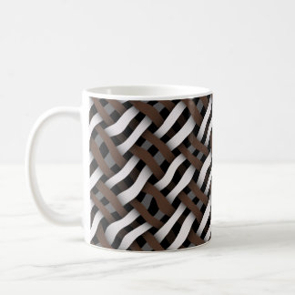 Mug tissage ou texture sans couture tissée